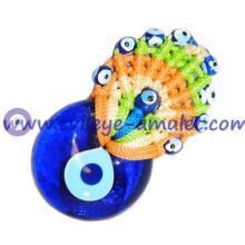 Traditional Lucky Evil Eye Turkish / Greek Fridge Magnet Multicolor