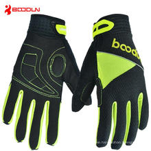 Leather Motorcycle Gloves Anti-Slip, Heated Warm Glove for Winter