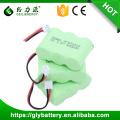 Großhandelspreis Fabrik Preis 2/3 AA 600 mah 3,6 v ni-mh akku handy batterie