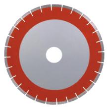 Lâminas de serra de diamante brasadas para arenito (corpo silencioso, segmentos planos)
