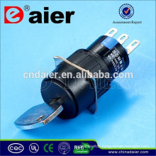 Daier A16-11ZX2 16mm key lock pushbutton switch