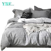 High Quality Modern Design Army Dorm Hypoallergenic Cotton Stripe Bedding Set