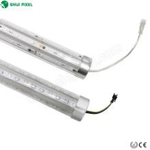 addressable 3D led pixel tube for bumper cars amusement rides 3D rgb led pixel tube led stick bar light