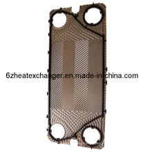 Placa y junta del intercambiador de calor