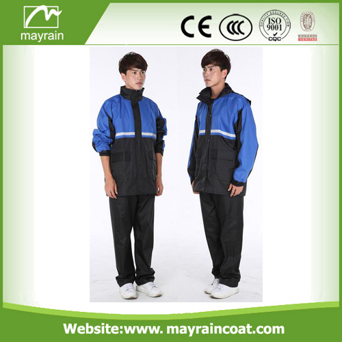 Durable Hooded Rain Suit