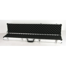 Long Aluminum Locking Rifle Gun Case