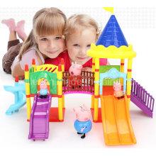 Großhandel 2016 Kinder Spielhaus Kunststoff Spielzeug Haus Spielset