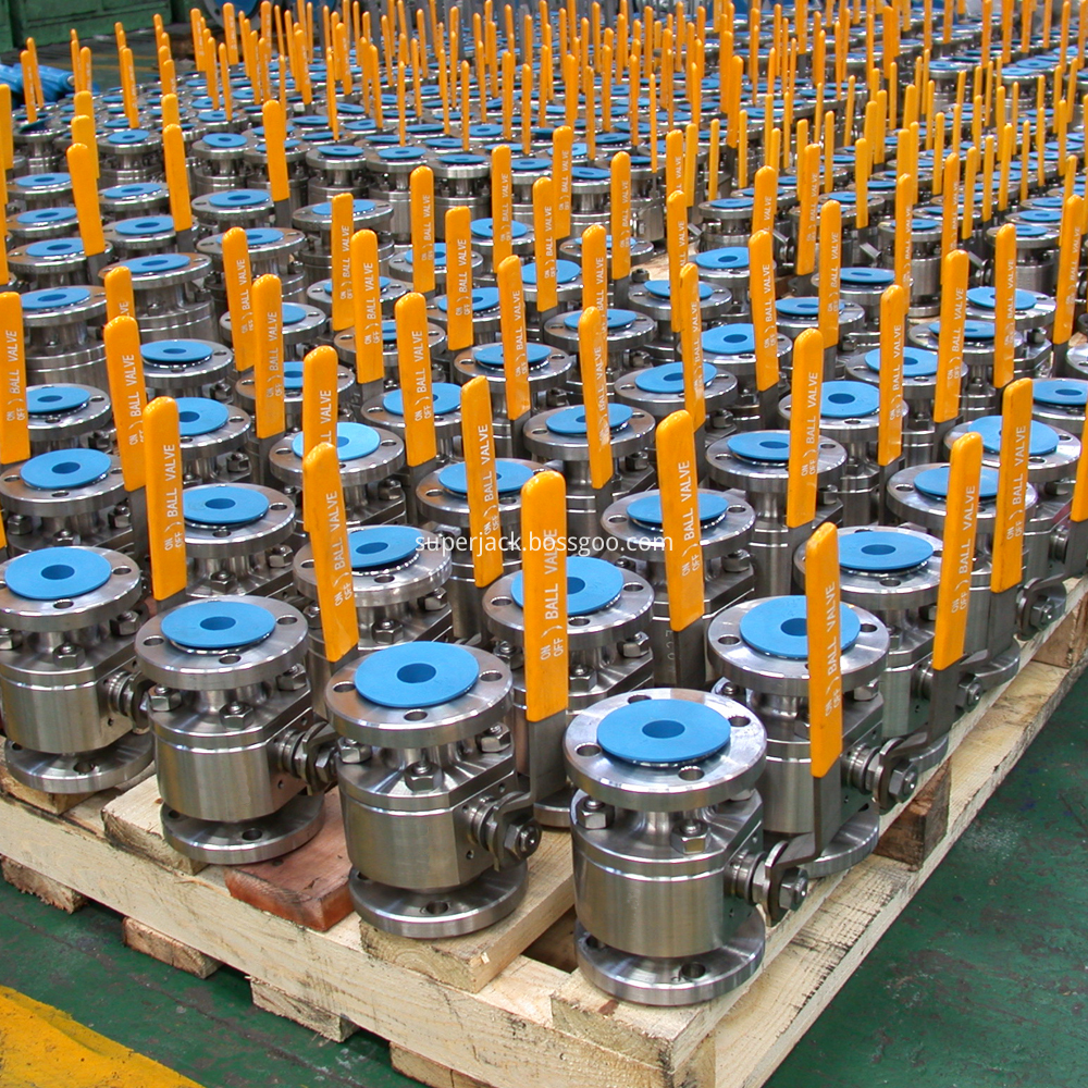 2pc Forged Steel Floating Ball Valve