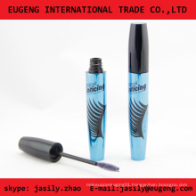 Newest design empty cosmetic mascara cases with brush cosmetics packaging