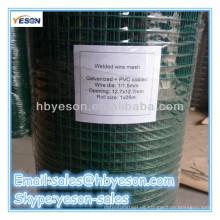 Alambre de malla de alambre soldado recubierto de plástico fábrica fiable / alambre de carbono
