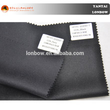 Black and dark navy 50% cashmere fabric for fall and winter coat in stock