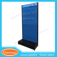 Detachable exhibition equipment trade show floor stand display with hooks