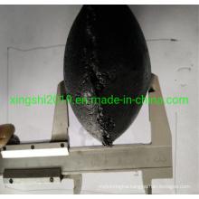 Iran Market Best-Selling Graphite Carbon Electrode Paste Egg Shaped for Calcium Carbide Smelting