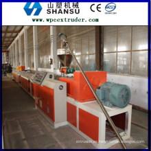 PRECIO DE WPC PROFILE MACHINE PLASTIC WOOD PLASTIC COMPOSITE Línea de máquina / composit de plástico de madera máquina