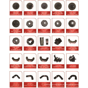 Japonês, trator, peças, exaustão, tubo, junção, (B7001)