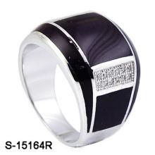 Nueva fábrica de diseño al por mayor 925 anillo de plata esterlina