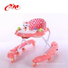 Best Baby height adjustable baby walker /inflatable baby walker