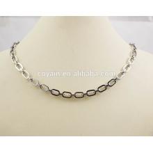 Art und Weise 316L Edelstahl-Verbindungs-Ketten-Halskette u. Armband-Schmucksache-Satz