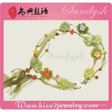 Tassel Flower Garnet Vintage Flower Little Flower Belt