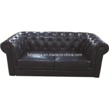 Nightclubs Leather Tufted Chesterfield Sofa (FOH-CBCK68)