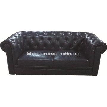 Nachtclubs Leder getuftet Chesterfield Sofa (FOH-CBCK68)
