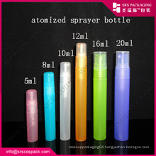 China New Design Liquid Round Spray Bottle , 10ml Plastic Bottle