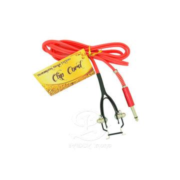 Macio vermelho cobra rei Ⅲ tatuagem personalizada Clip cabo