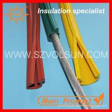 Medium Voltage Resistant Wire Insulation Overhead Line Silicon Cover