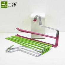PVC-beschichteter Doppelschicht-Hosenbügel aus Metall