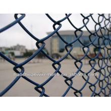 Venta temporal de la cerca de la cadena de construcción