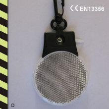 Marqueur LED réfléchissant avec Keychain En13356 et norme RoHS