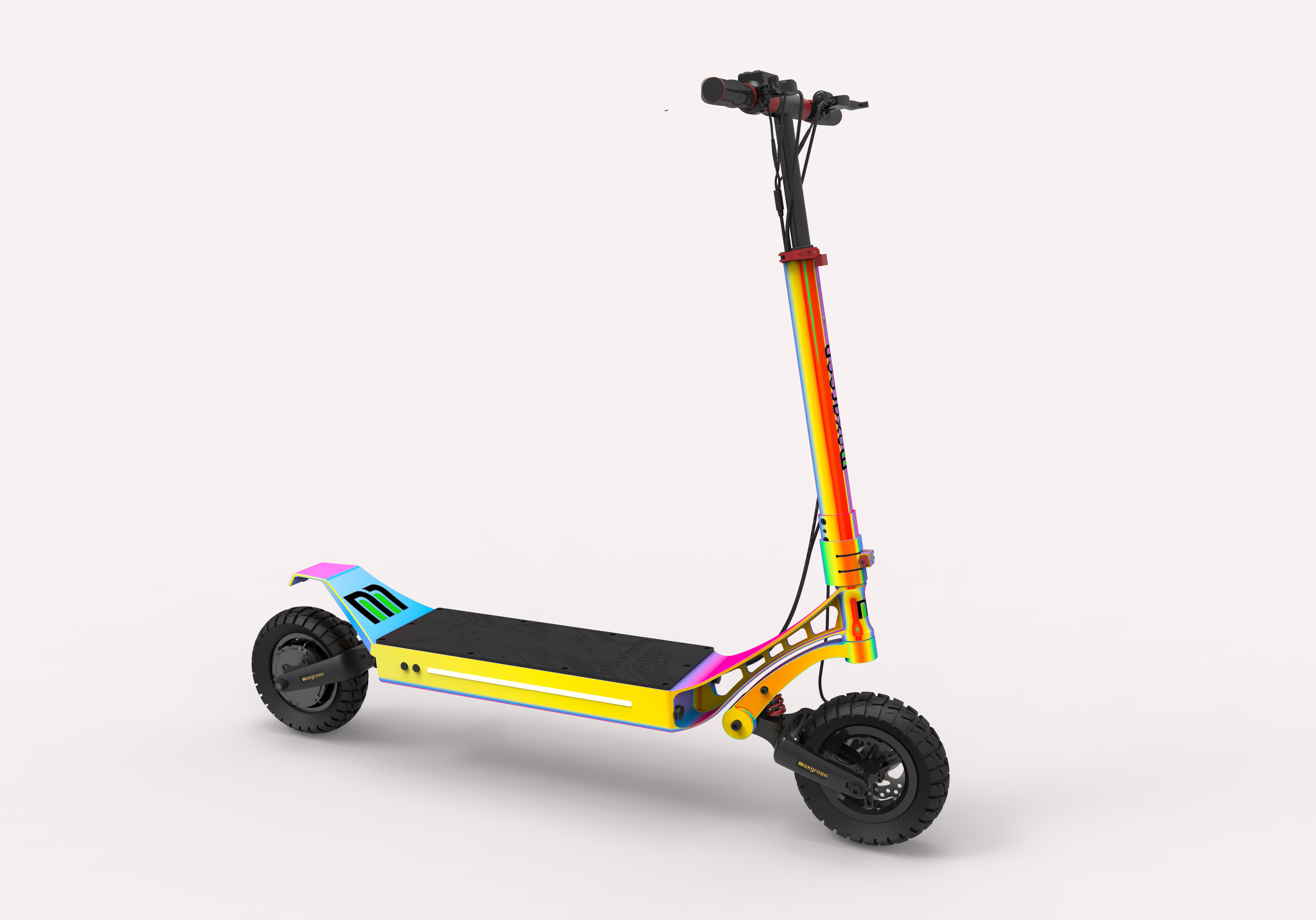 Dual Motor Electric Scooters