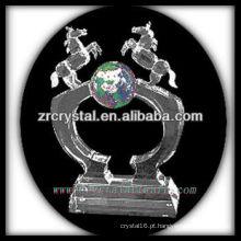 troféu de cristal em branco X050