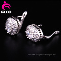 Latest Style White Gold Cuff Earrings Design