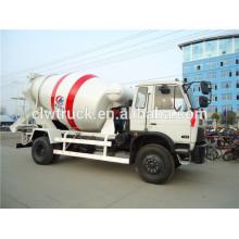 DongFeng 4x2 LHD / RHD 6CBM camión hormigonera, camión mezclador de cemento