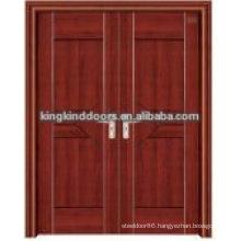 Latest design interior steel wood glass door JKD-3023(A)