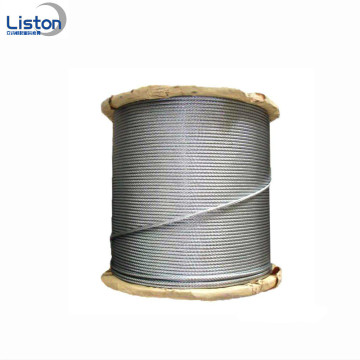 Galvanized Lifting Steel Wire Rope Slings dengan Hook