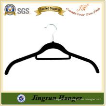 Gilet de velours en plastique noir de haute qualité pour chemise