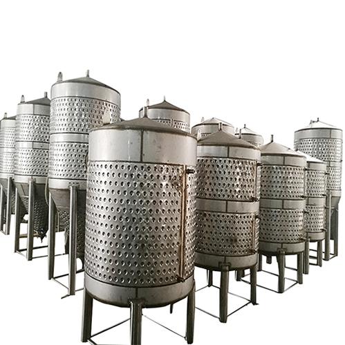 Fermentation tank production