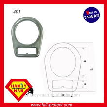 401 Steel Flat Forged D-ring
