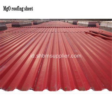 Iron-Crown Anti-Aging MgO Roofing Sheet Untuk Chiken House