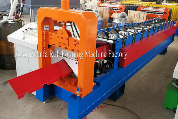 top ridge cap roll forming machine