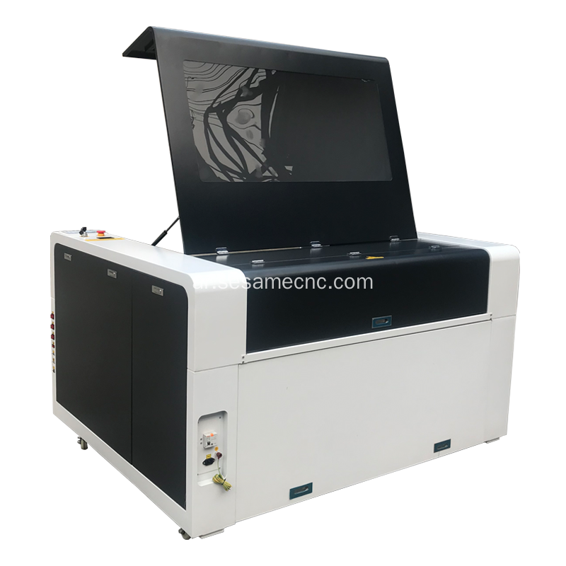 Clothing Accessories Carving CO2 Laser Engraving Machine