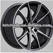 16 polegadas preto belo cromo réplica novas rodas de liga leve