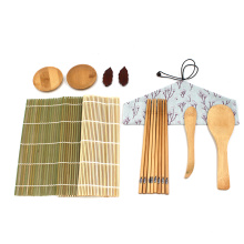 Natural Eco-friendly Healthy Bamboo Sushi Making Kits For Beginners Maker Mold Tool Set