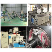 Máquina de granulación del extrusor del PVC con la certificación del CE y de ISO9001