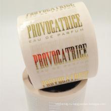 Ясно ПЭТ материал изготовленное на заказ печатание умирает отрезок косметический ярлык из Шанхая