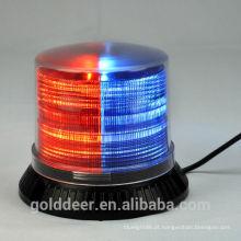 Luzes de farol vermelho/azul polícia luz estroboscópica para caminhão