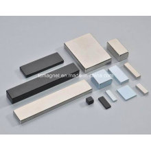 Different Size Block Neodymium Magnets in Various Plating
