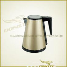 Calentador de agua de doble cubierta de oro y astilla